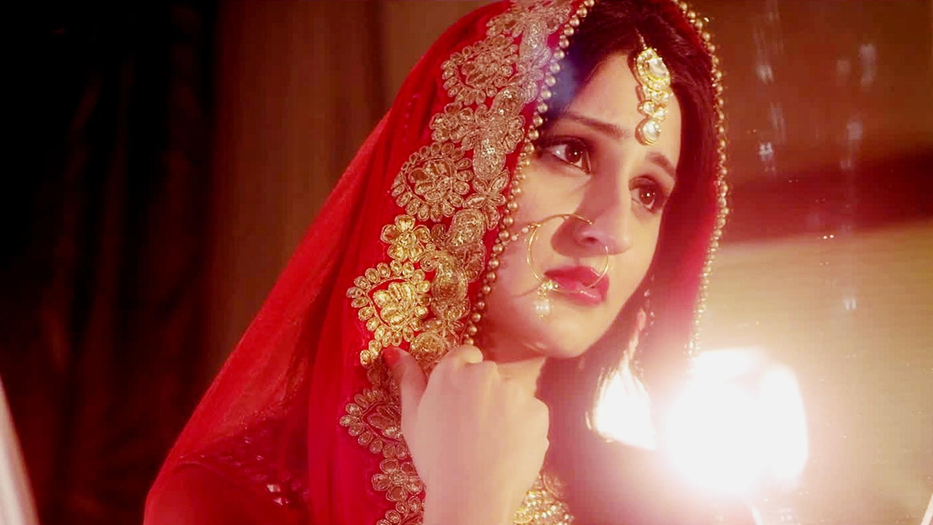 c0265e82ccc6 Cute Indian Bride Girl Wallpaper 13372 - Baltana