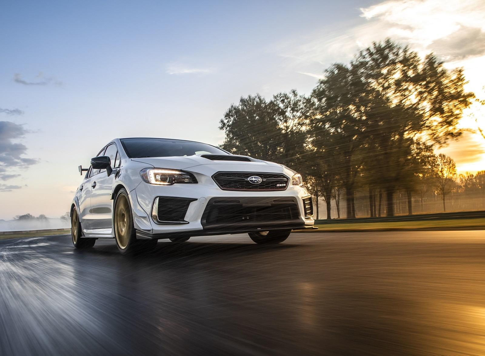 2019 Subaru WRX STI S209 Front Wallpaper (17) - HD Wallpapers