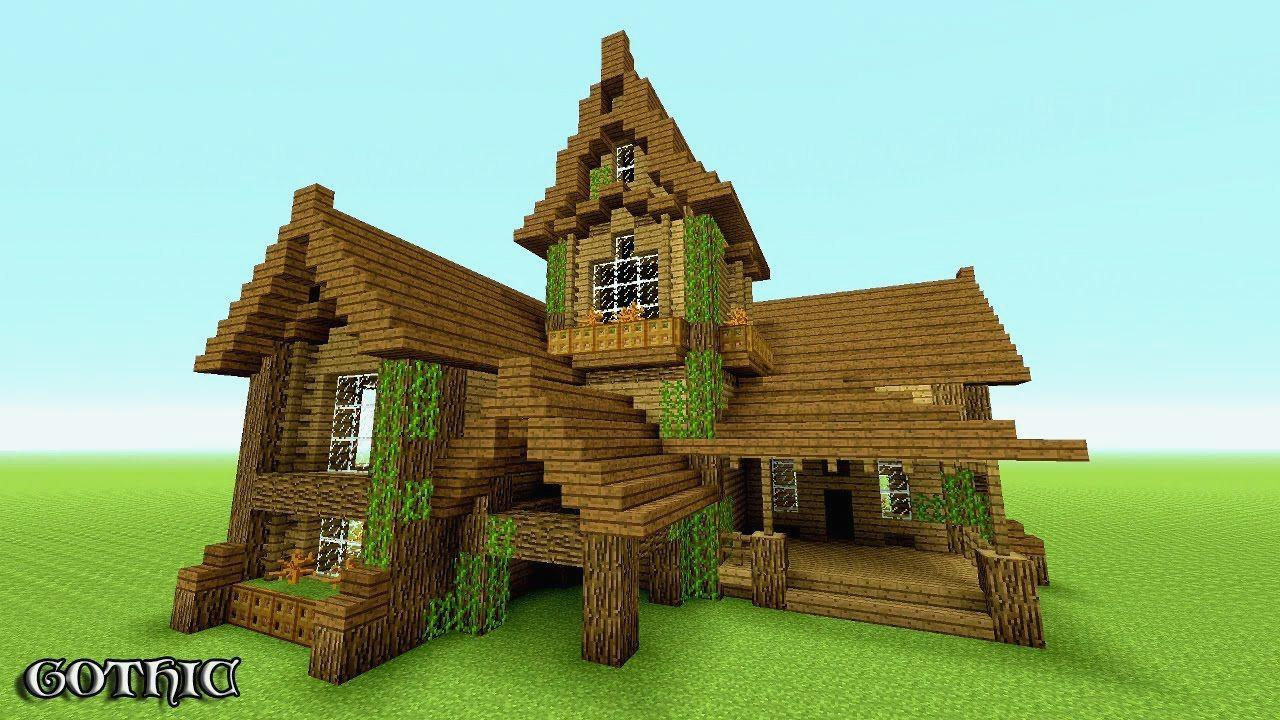 Minecraft House Wallpapers