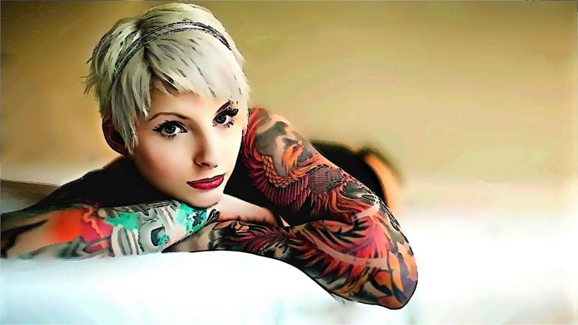 Tattoo Girl Wallpapers Wallpaper Cave