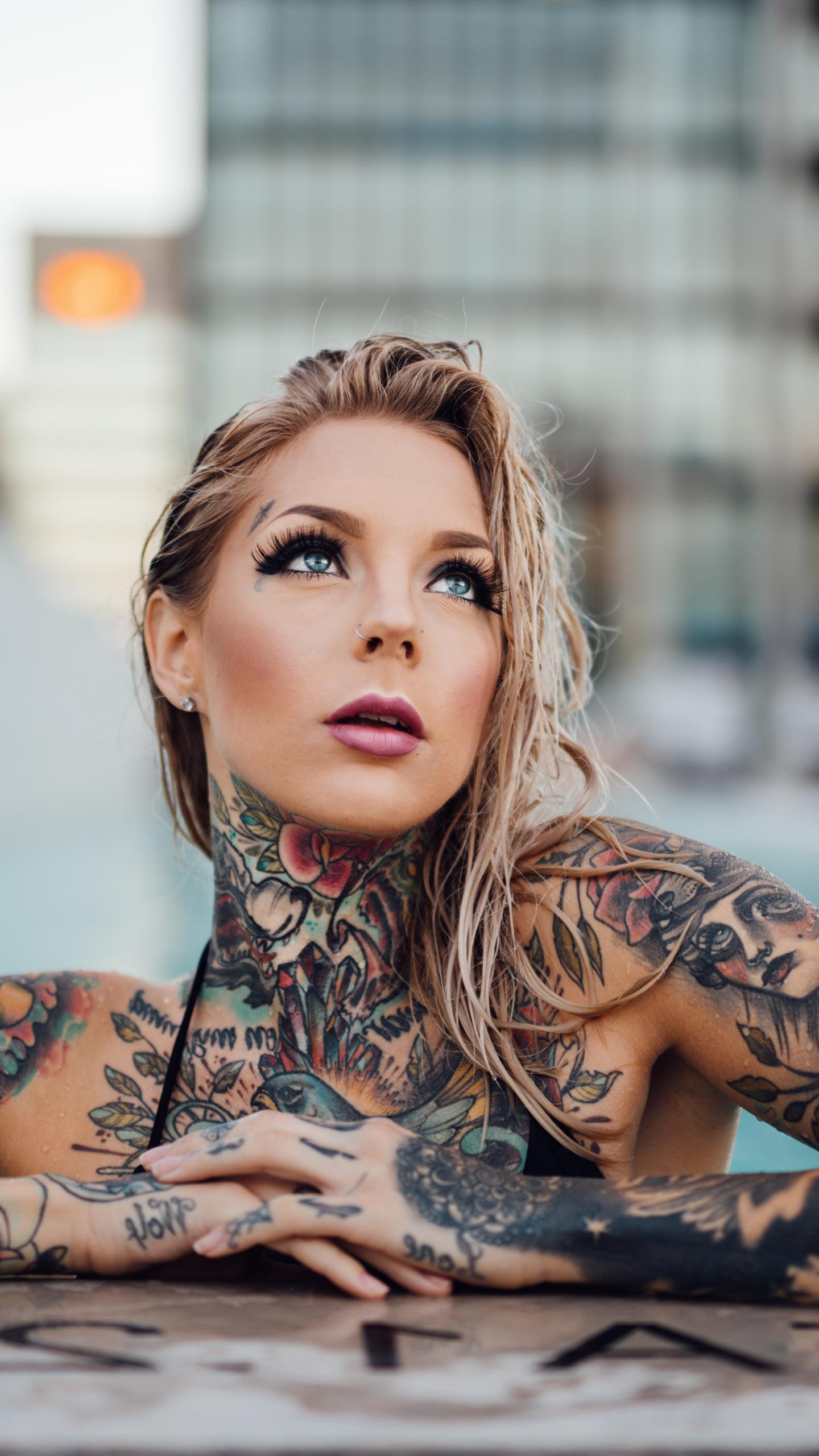 Tattoo Woman Wallpaper - inn.spb.ru - ghibli wallpapers