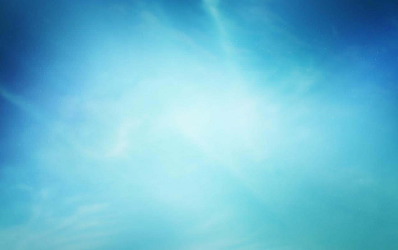 Bright Blue Sky wallpapers