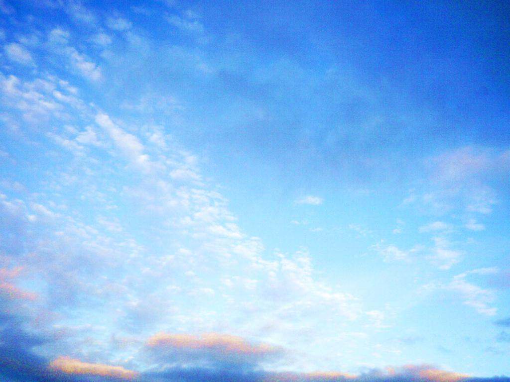 blue sky clouds wallpapers Gallery