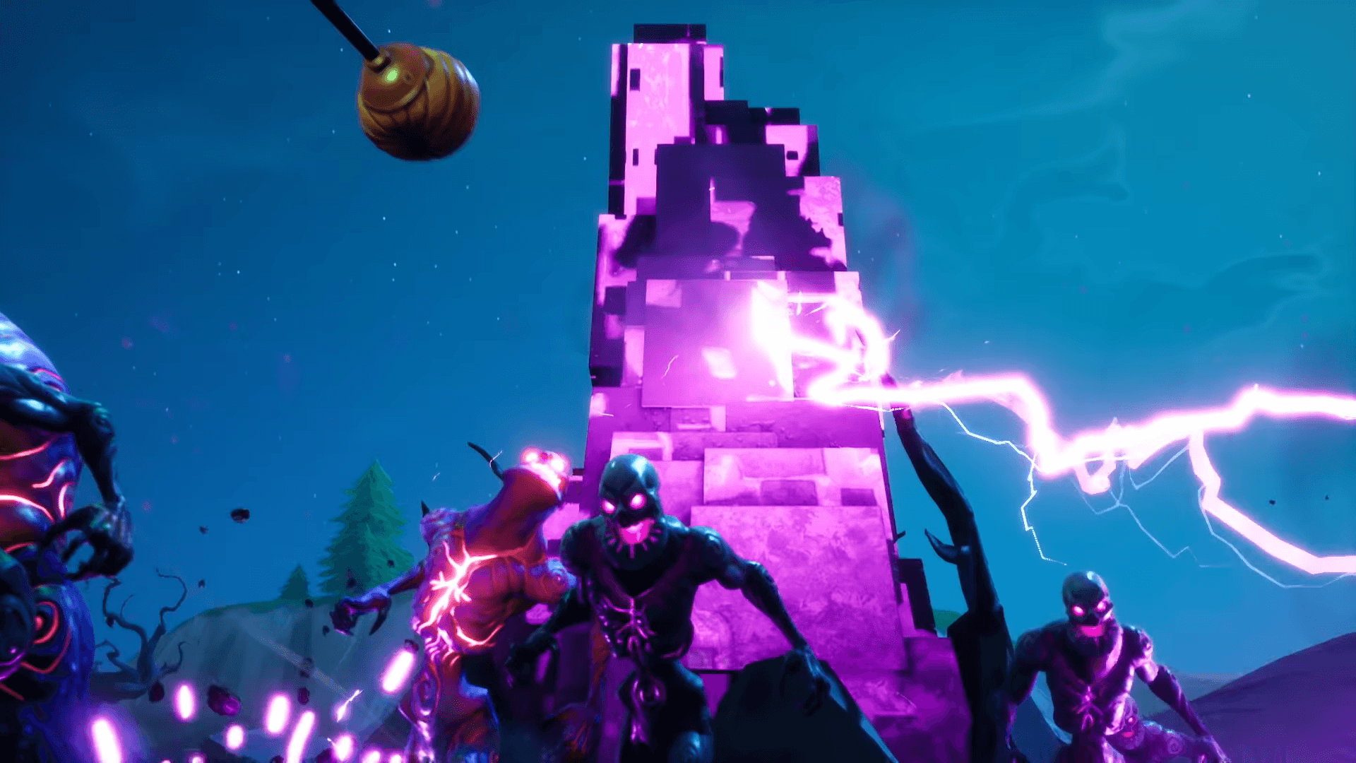 You can sneak past Cube Monsters on Fortnite: Battle Royale