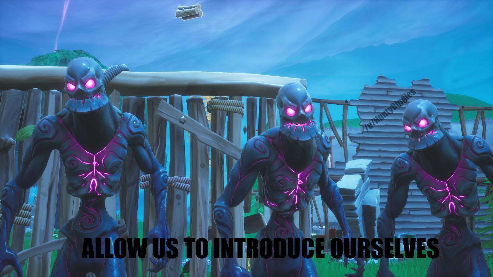 Late Game *Exists* Cube Monsters: : FortNiteBR