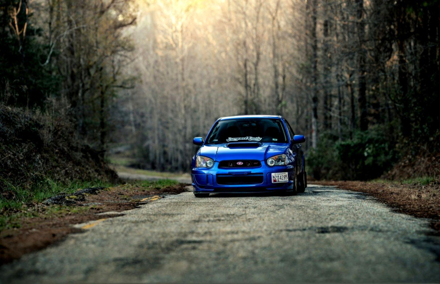 Subaru Impreza Road Hd Wallpaper | Wallpapers Mobile