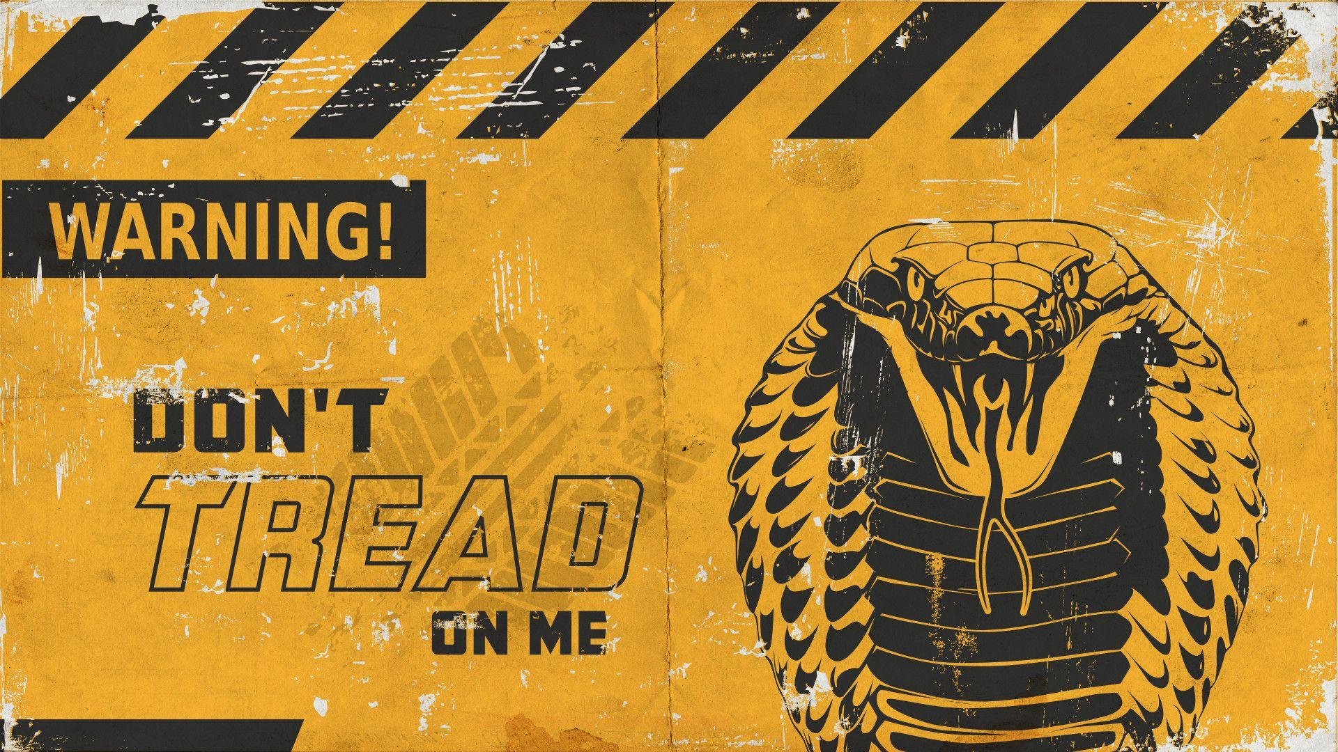 Don T Tread On Me Wallpapers Wallpaper Cave