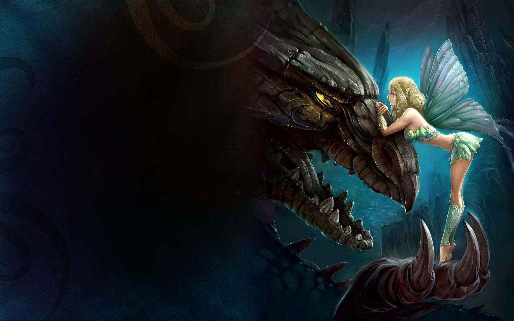 Dragon Girl Wallpapers - Wallpaper Cave
