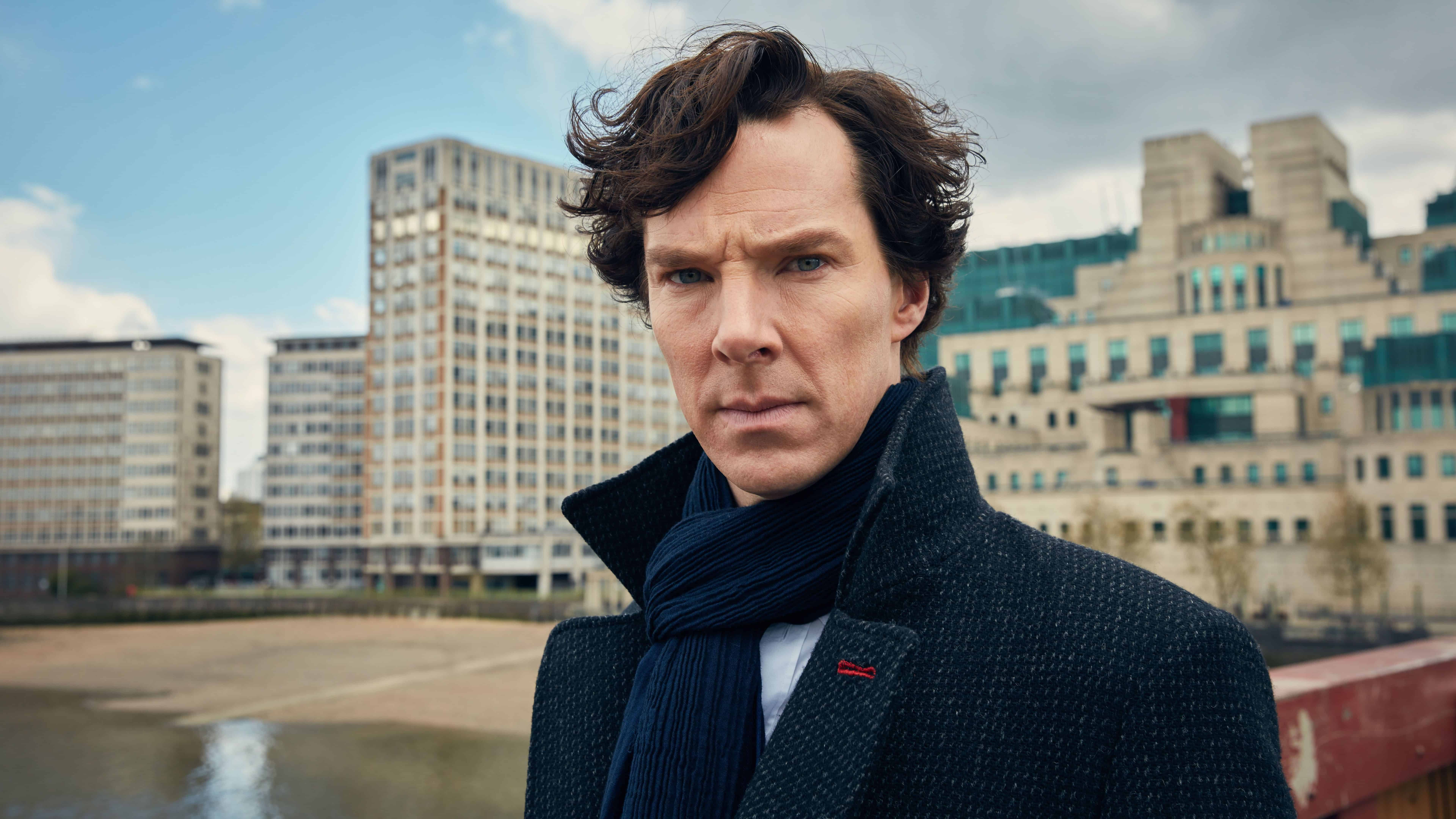 Sherlock Benedict Cumberbatch UHD 8K Wallpapers