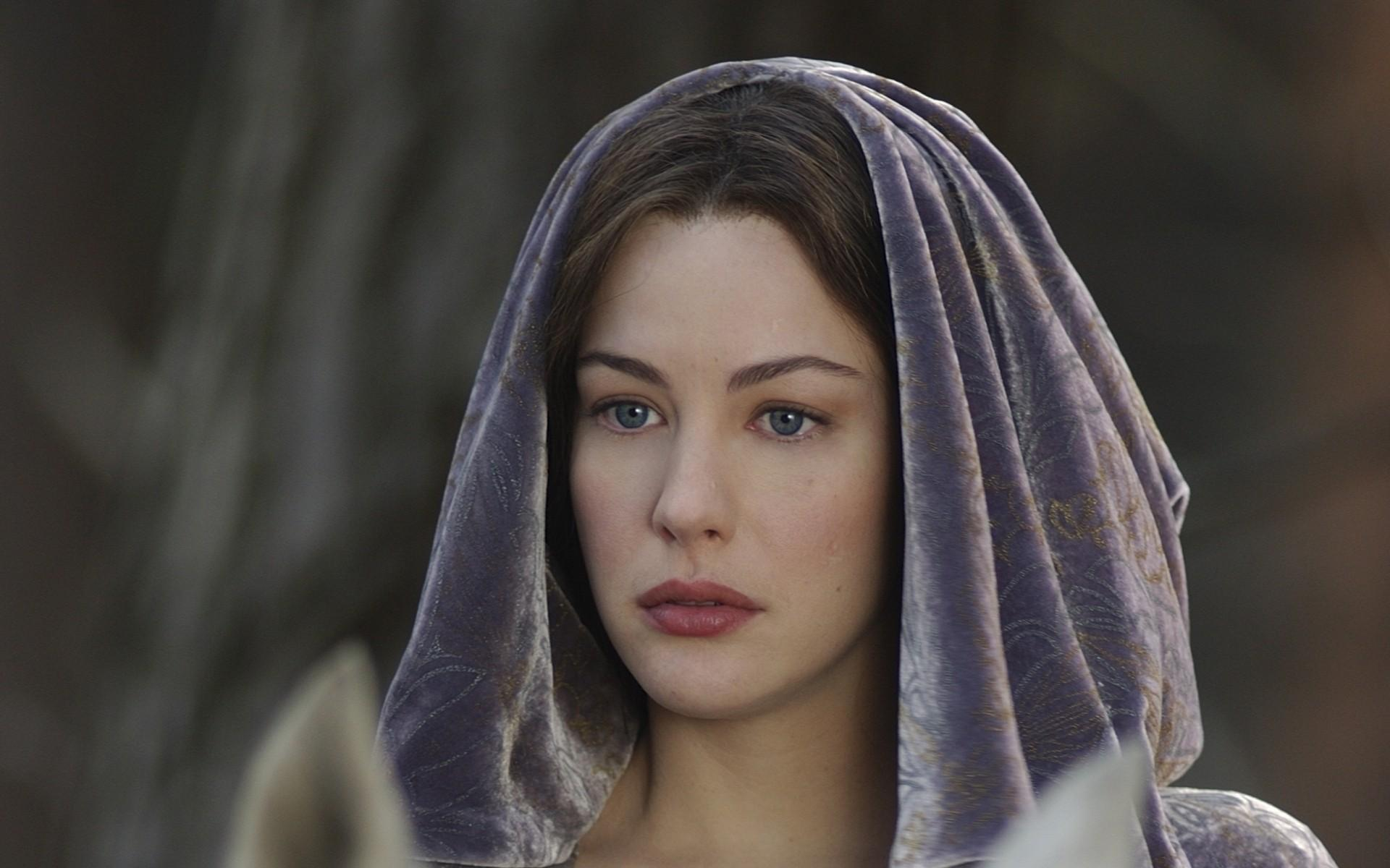 brunettes, women, movies, Liv Tyler, The Lord of the Rings, Arwen