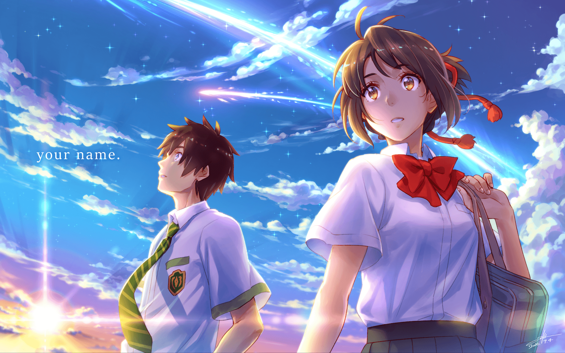 Your Name Anime 2016 Wallpapers