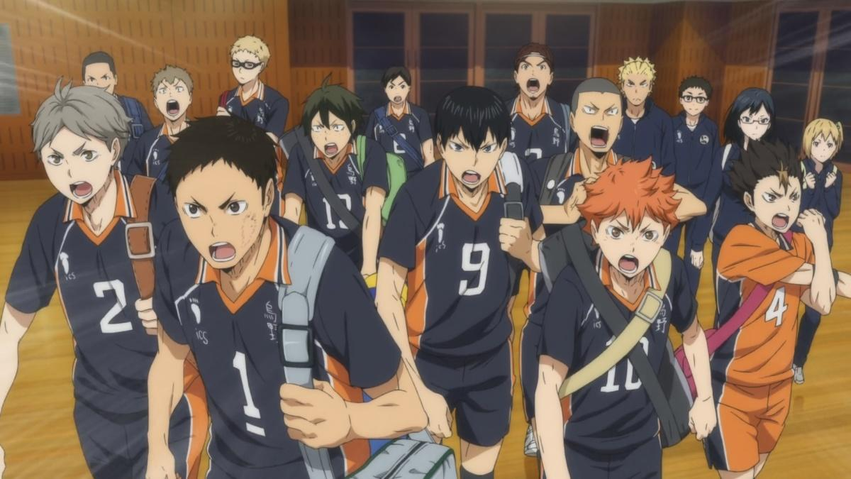 Haikyuu!! Karasuno High School vs Shiratorizawa Academy