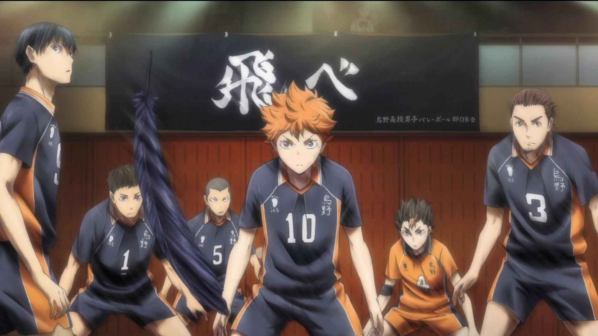 Haikyuu! Gets 2 New Compilation Fims