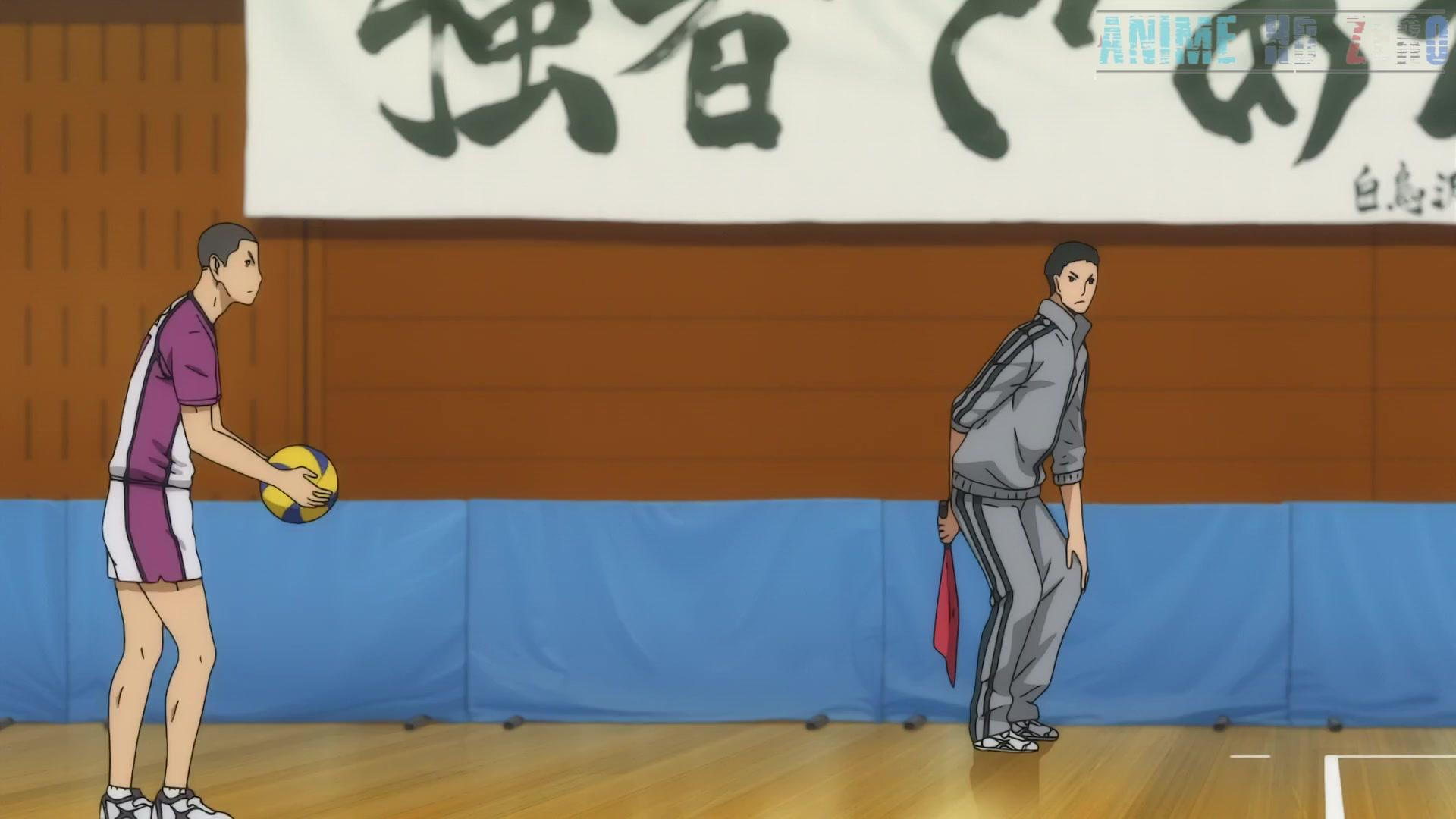 Haikyuu!! Karasuno High School vs. Shiratorizawa Academy