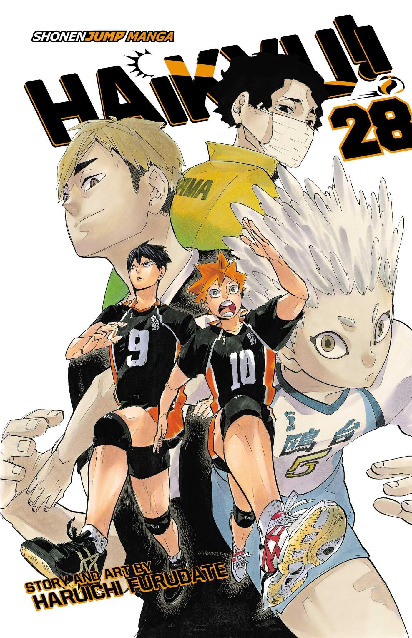 Haikyu!!, Vol. 28: Amazon.co.uk: Haruichi Furudate: Books