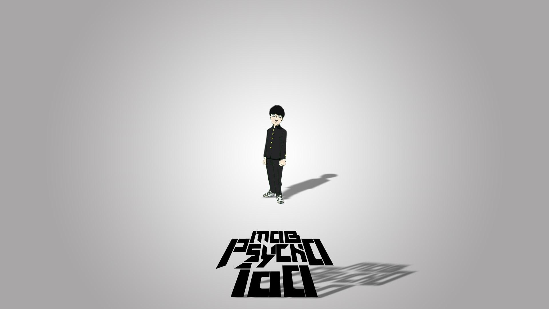 HD wallpaper: Anime, Mob Psycho 100, Shigeo Kageyama, full length