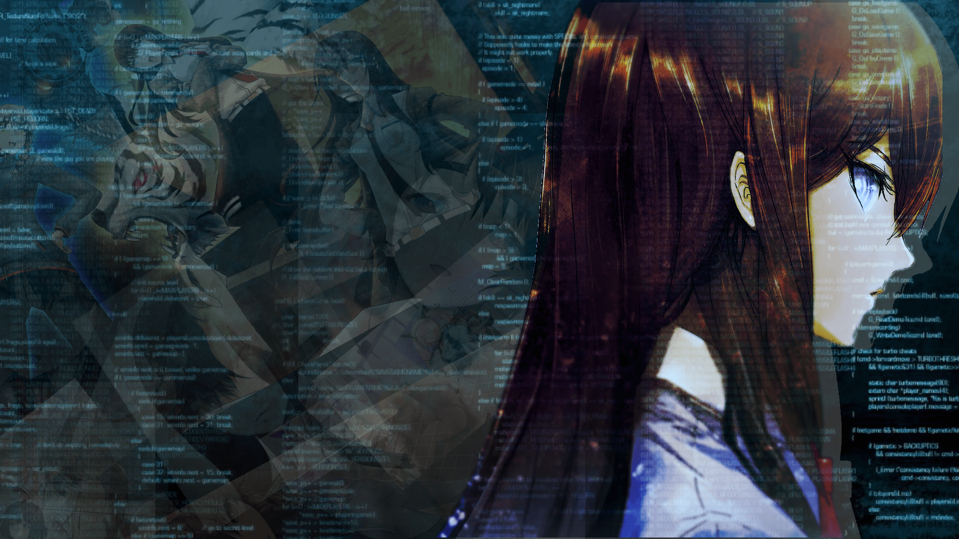 Minor Spoilers]Makise Kurisu Wallpapers I made with my free time