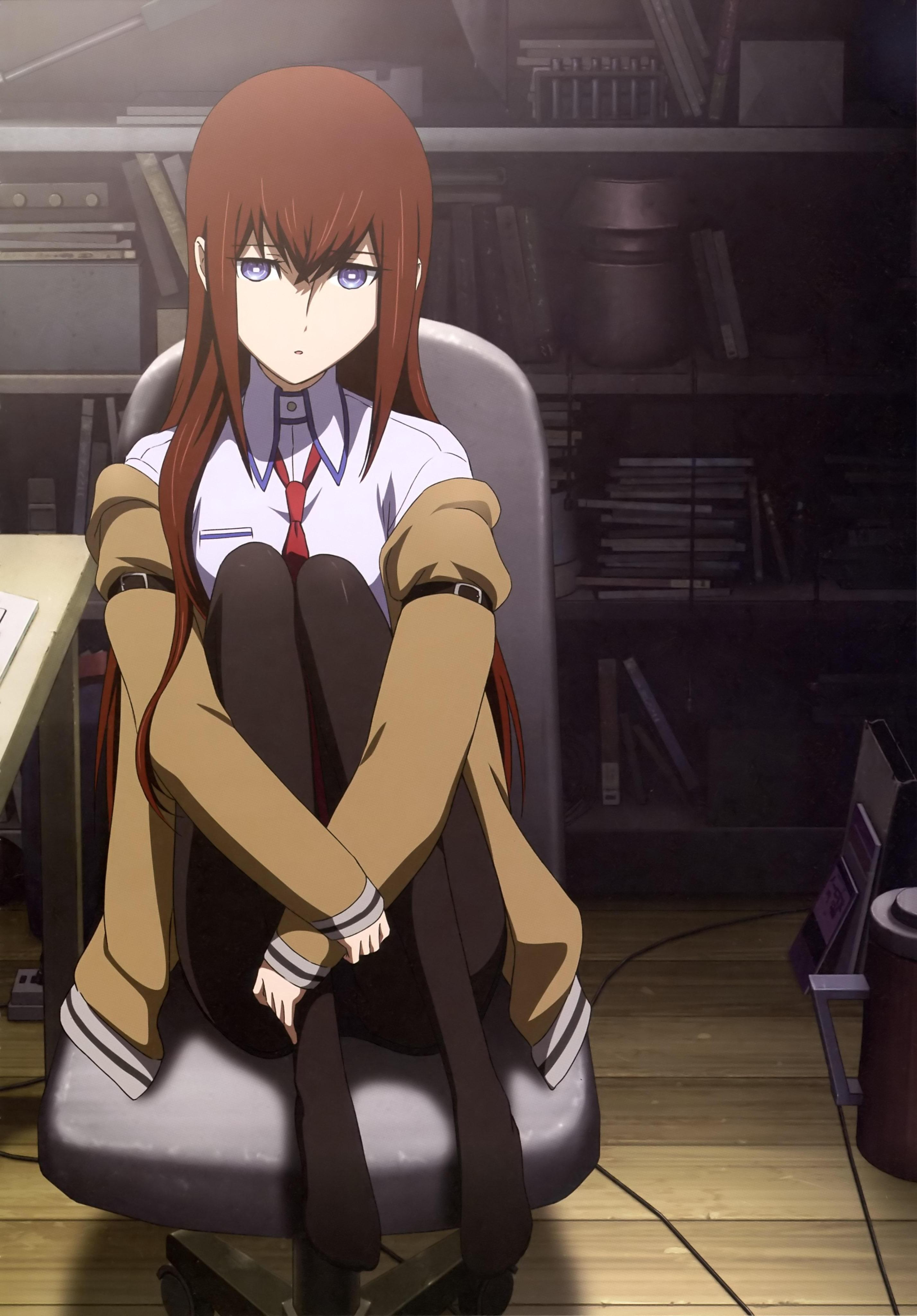 Makise Kurisu, Steins;Gate, Anime Girls Wallpapers HD / Desktop and