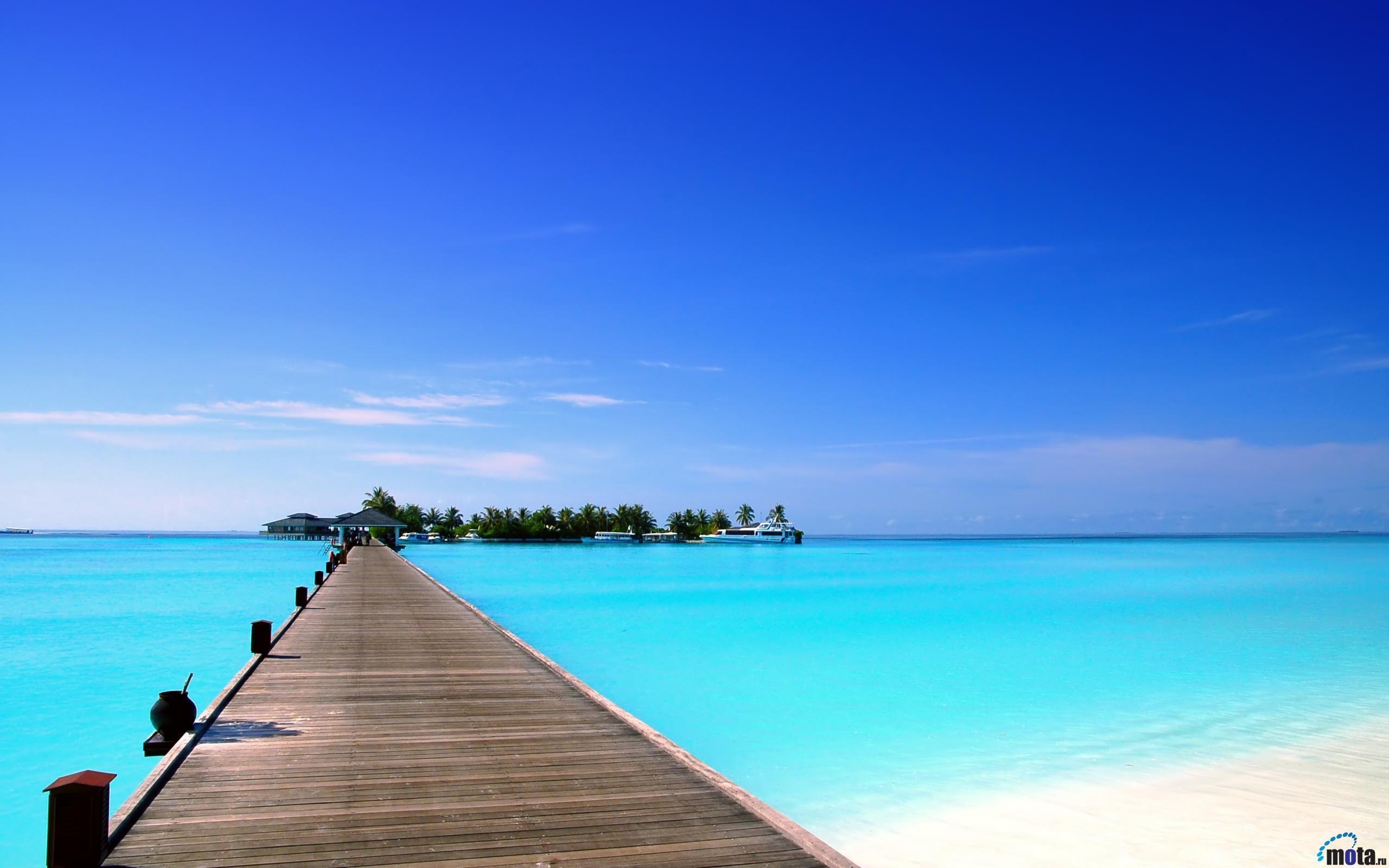 Desktop wallpapers Sun Island hotel, Maldives islands.