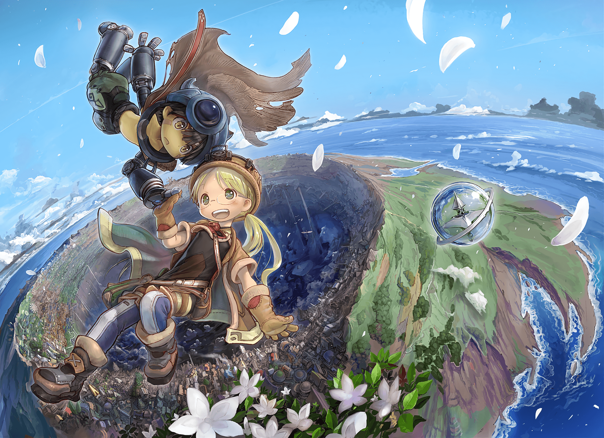 Anime Made In Abyss Regu