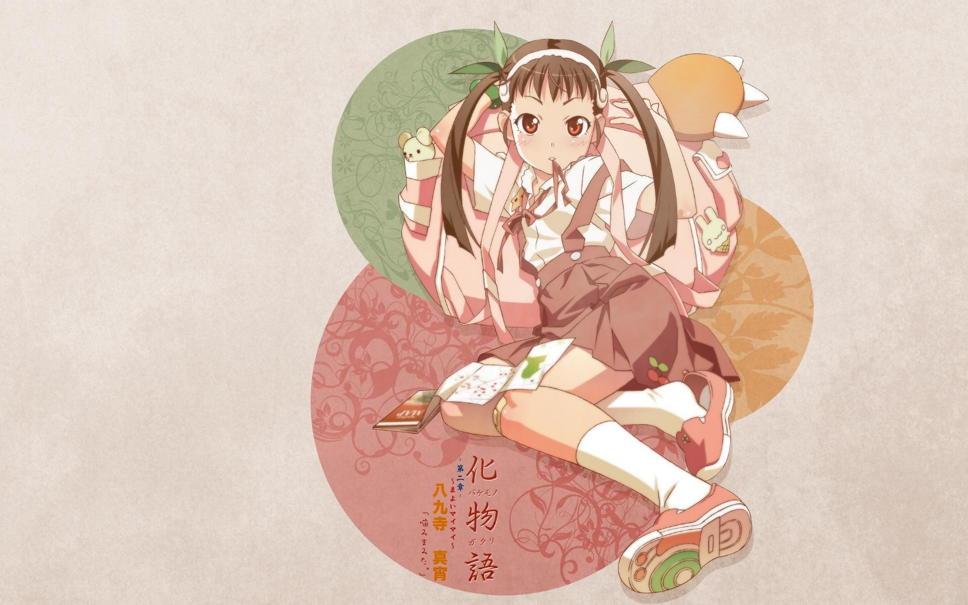 Mayoi Hachikuji wallpapers 1920x1200 desktop backgrounds