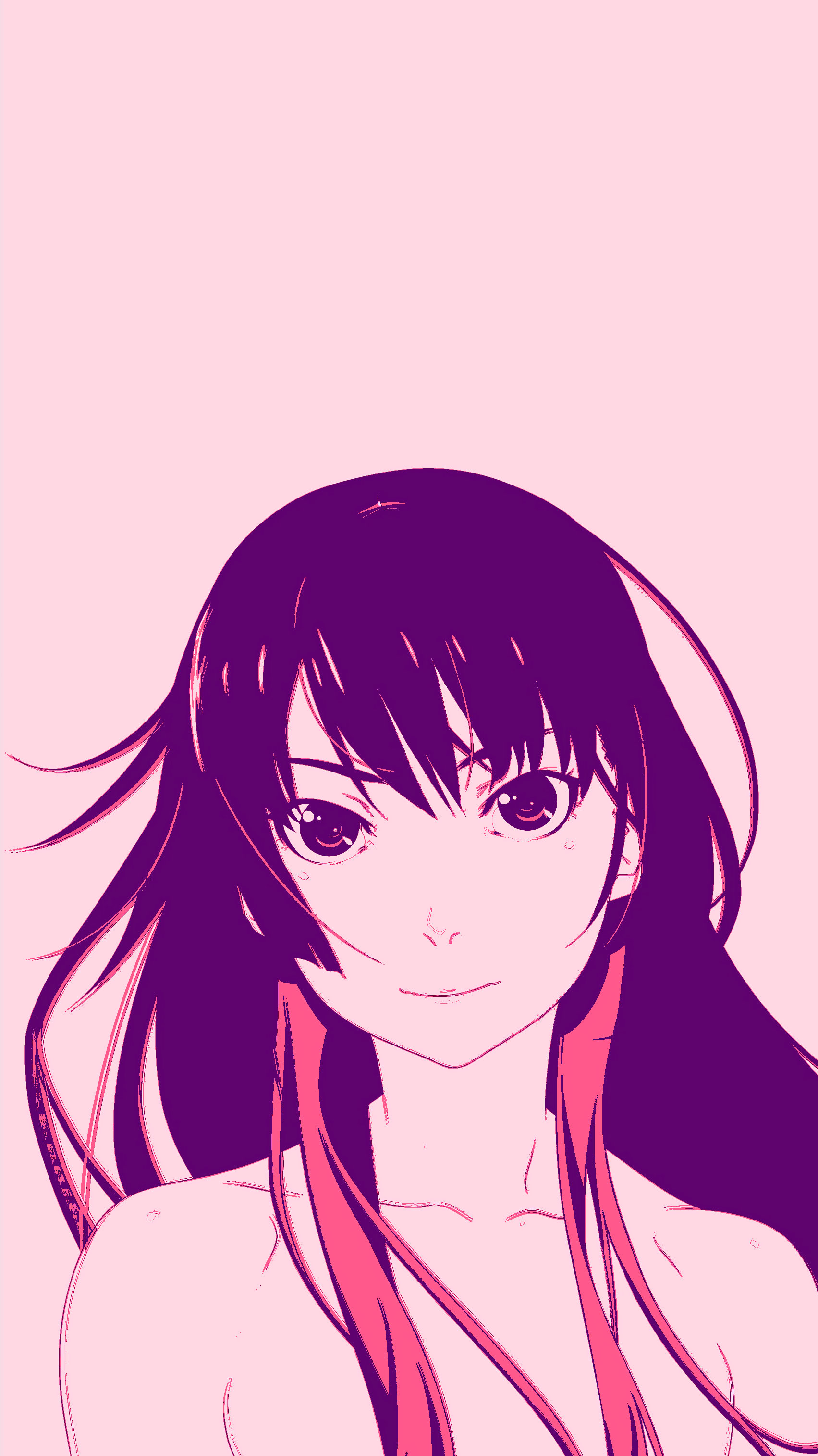 A Mobile Wallpapers of Hitagi