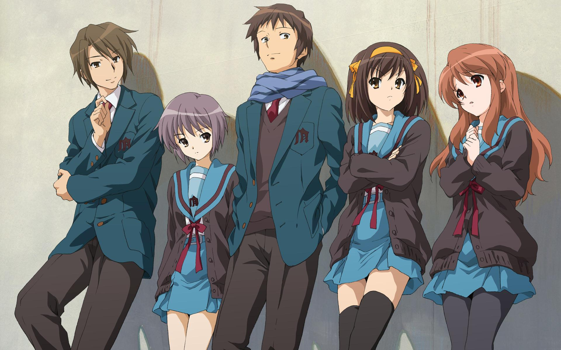 The Disappearance Of Haruhi Suzumiya Wallpapers - Wallpaper Cave