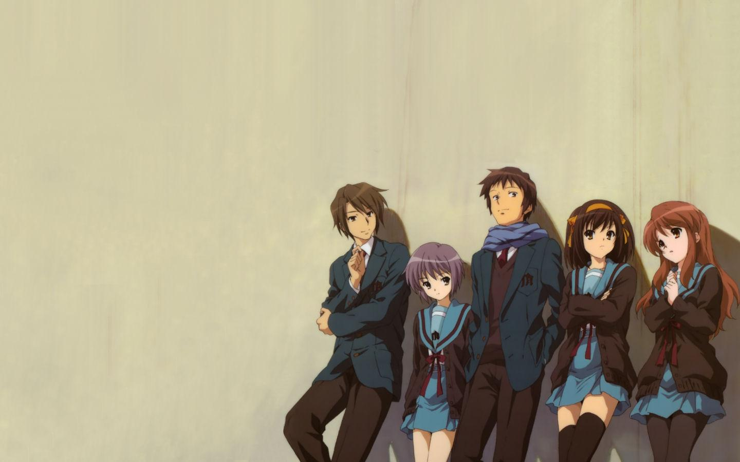 The Melancholy Of Haruhi Suzumiya Wallpapers and Backgrounds Image