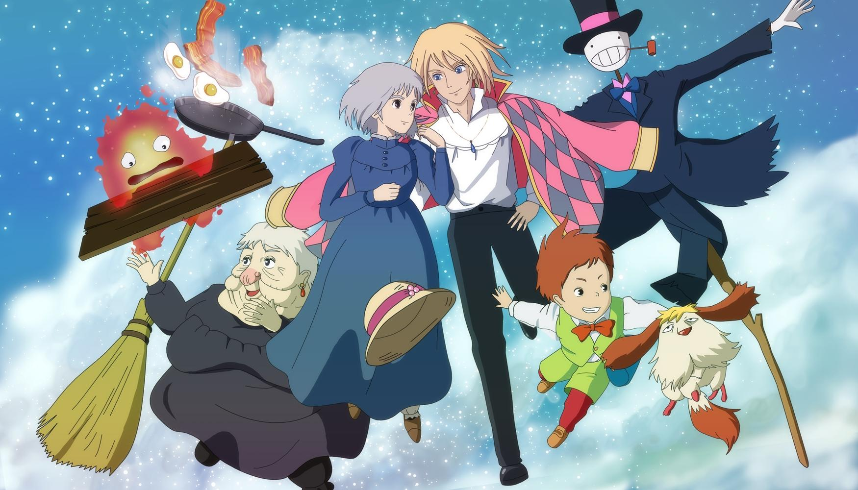 Howl's Moving Castle HD Wallpapers