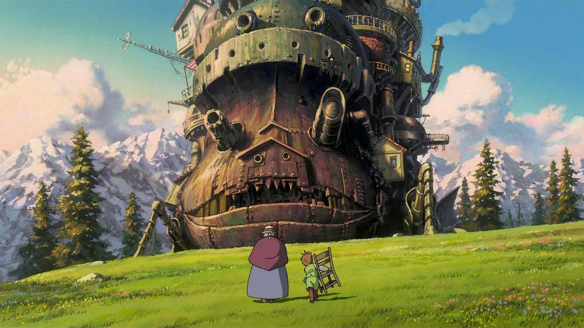 HOWL'S MOVING CASTLE Gets the SHOUT! FACTORY Treatment [Blu