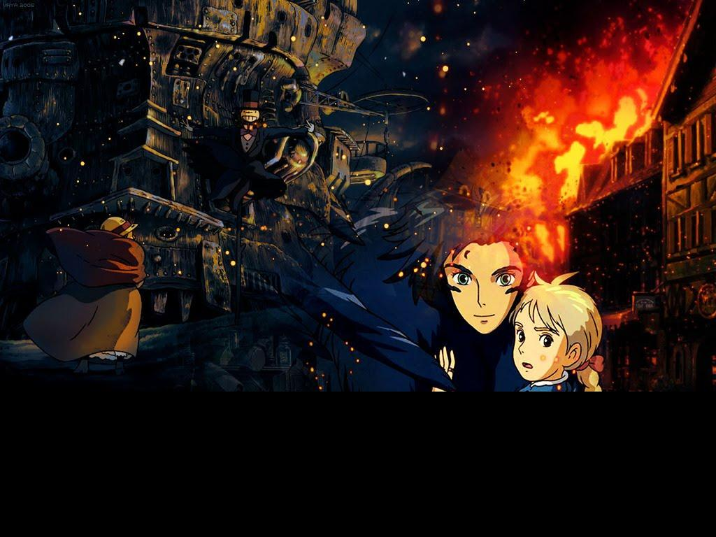 LIFE'S ETERNAL FLAME: HOWL'S MOVING CASTLE