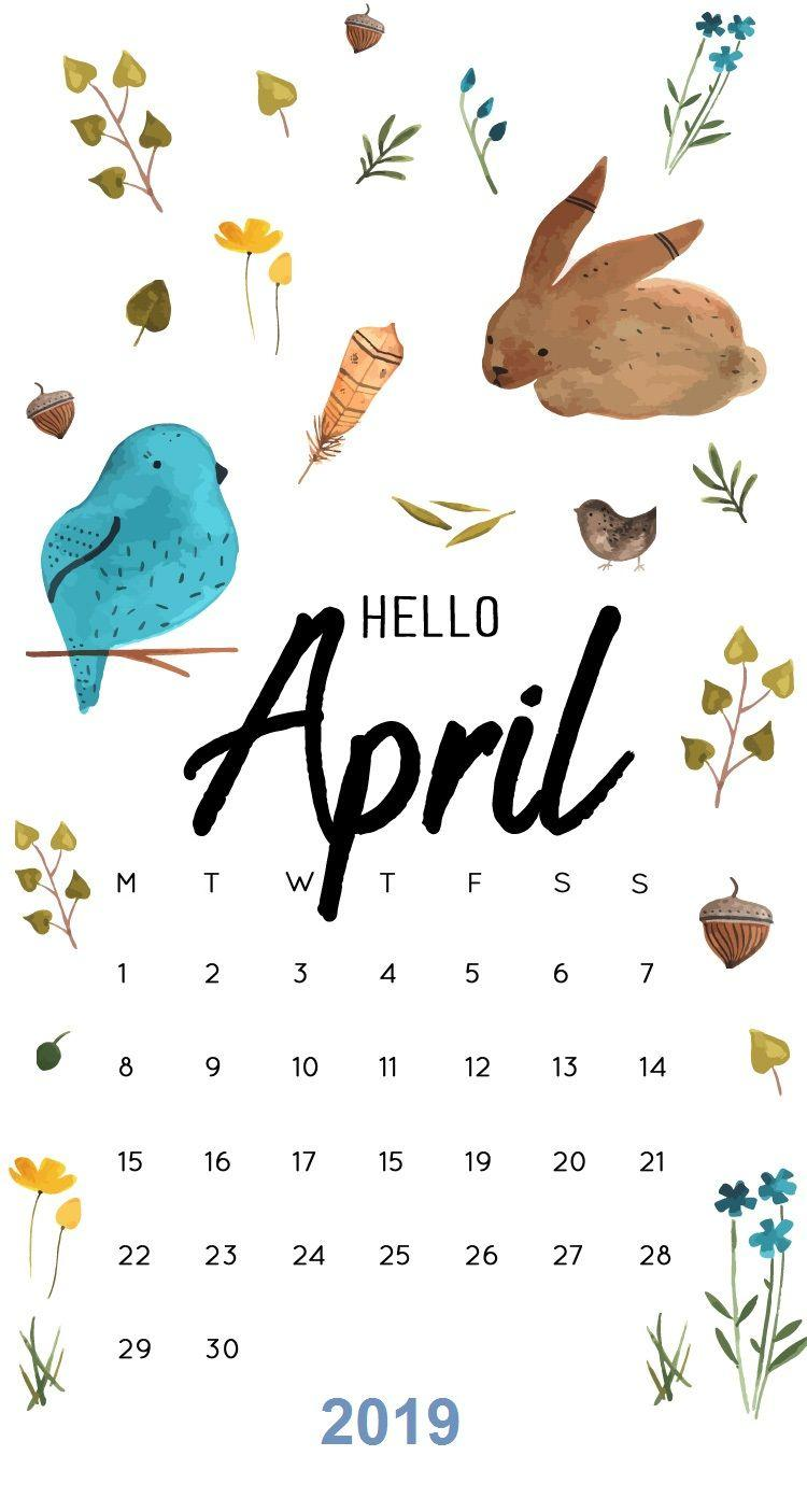 April 2019 Calendar Wallpapers - Wallpaper Cave