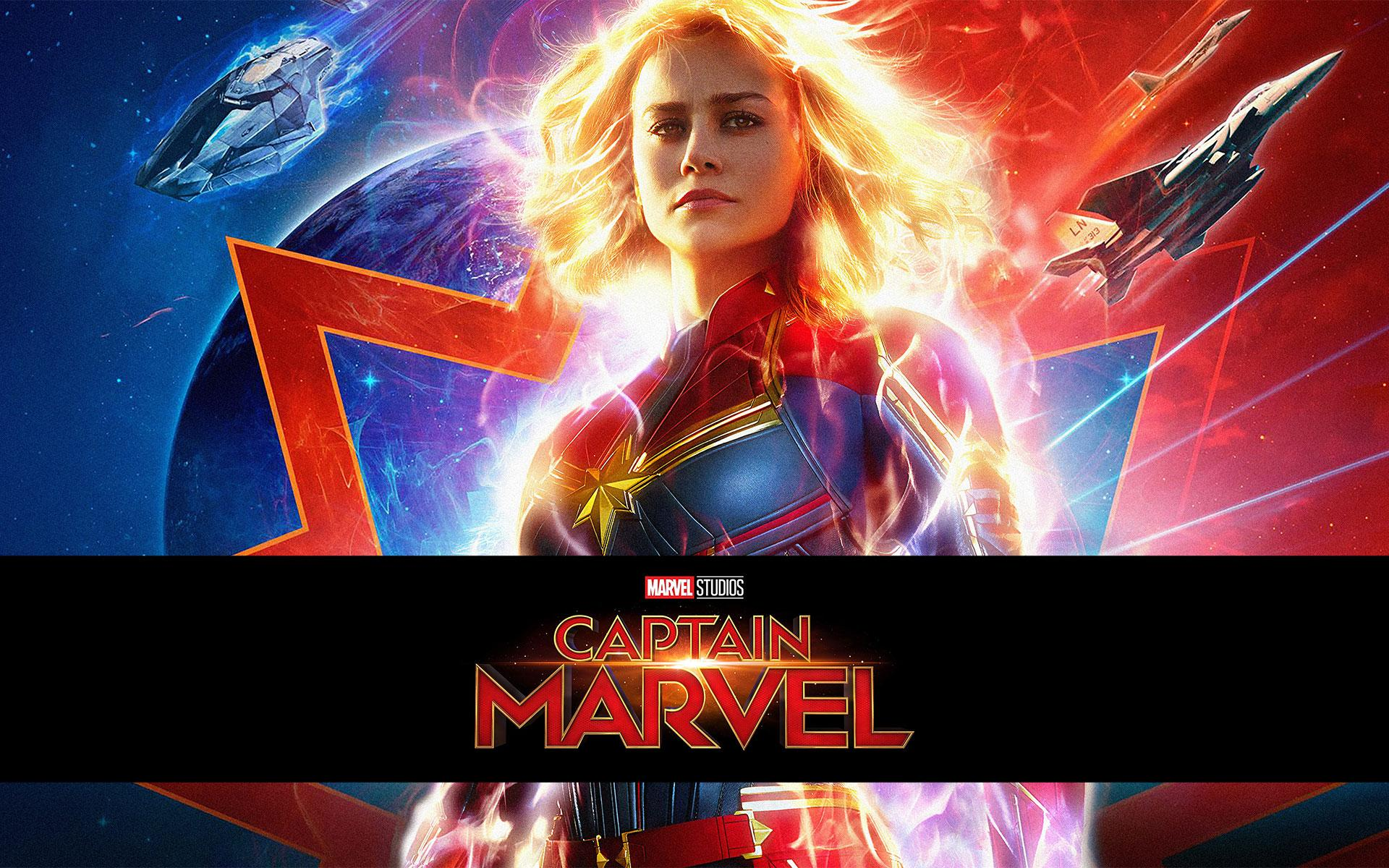 Captain Marvel Movie Wallpapers Wallpaper Cave