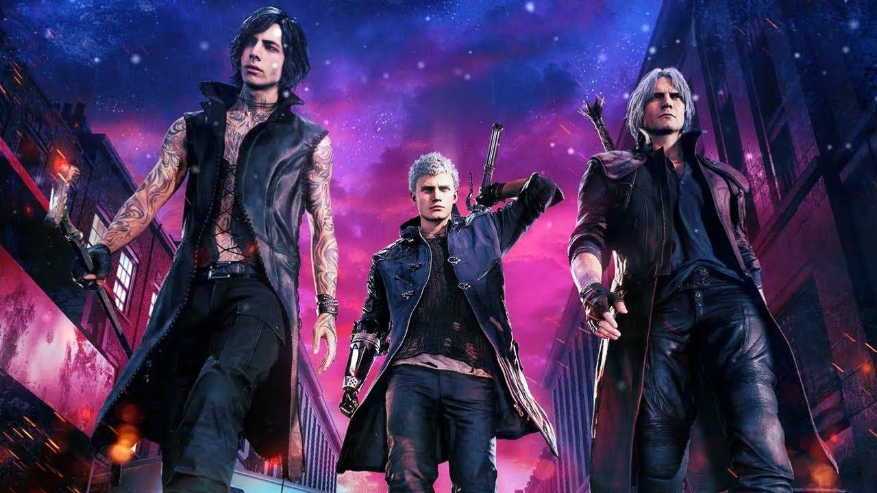Devil May Cry 5 HD Wallpapers - Wallpaper Cave
