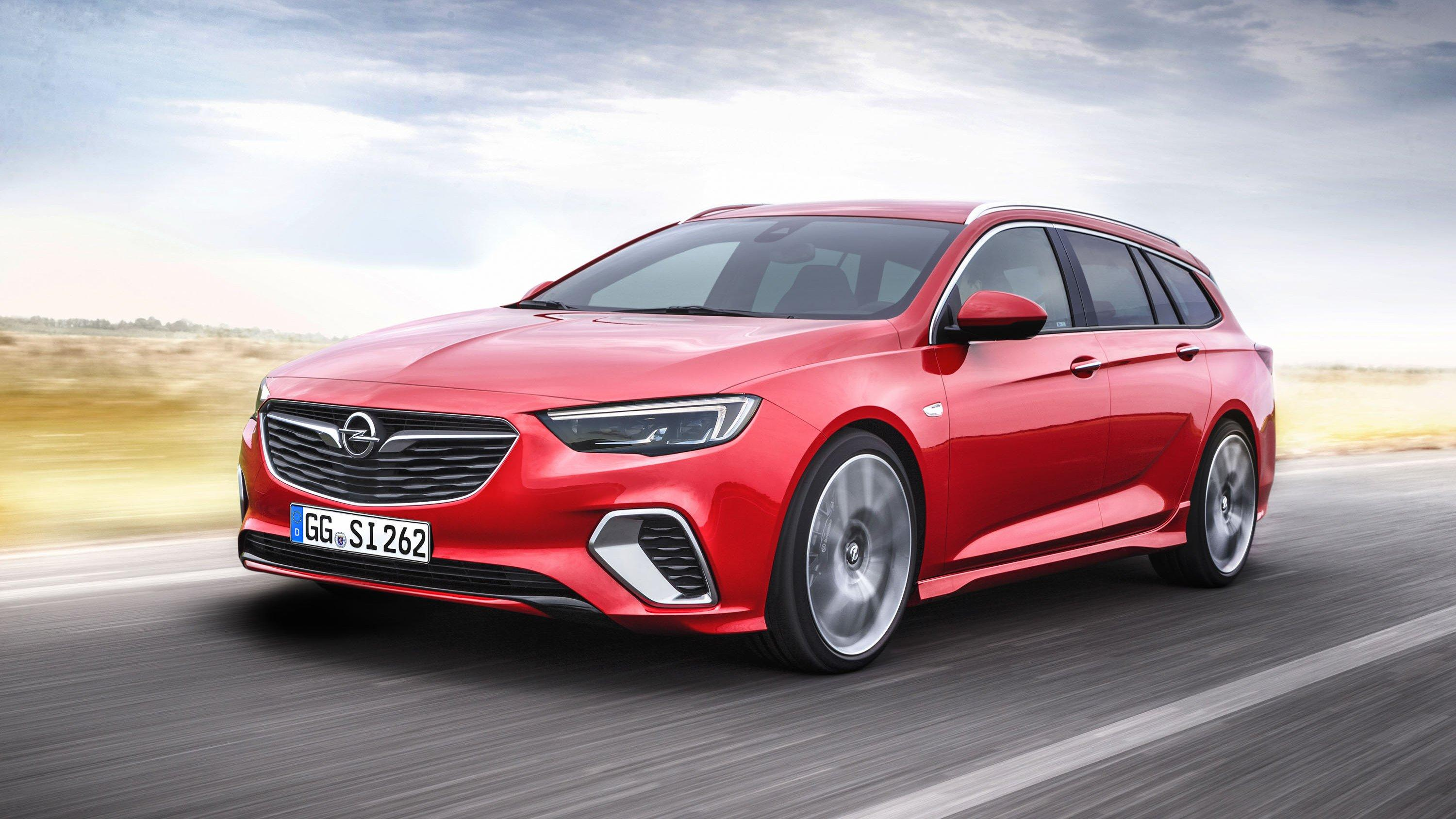 2018 Opel Insignia GSi Sports Tourer Pictures, Photos, Wallpapers