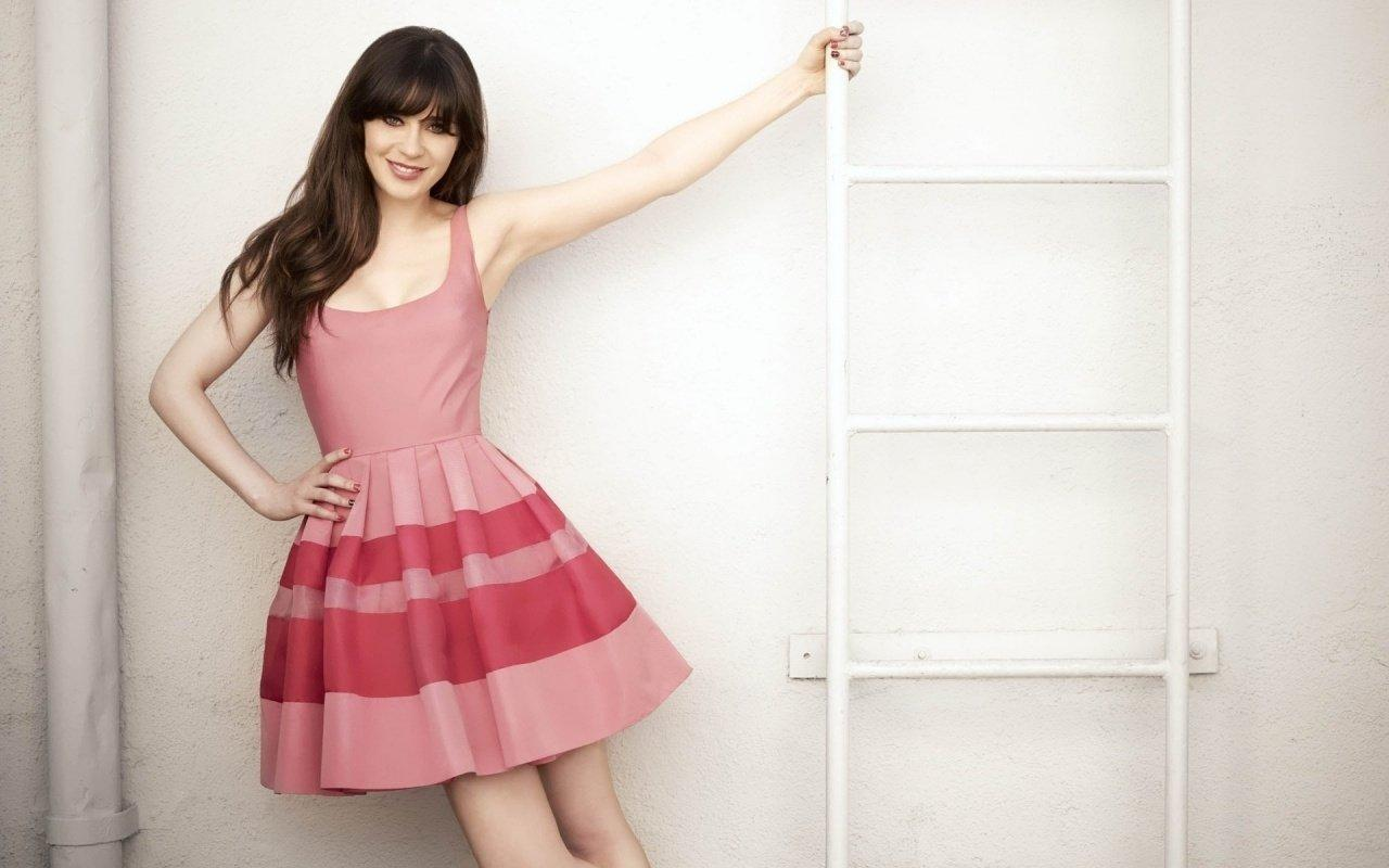 Zooey Deschanel Wallpaper and Background Image | 1280x800 | ID ...
