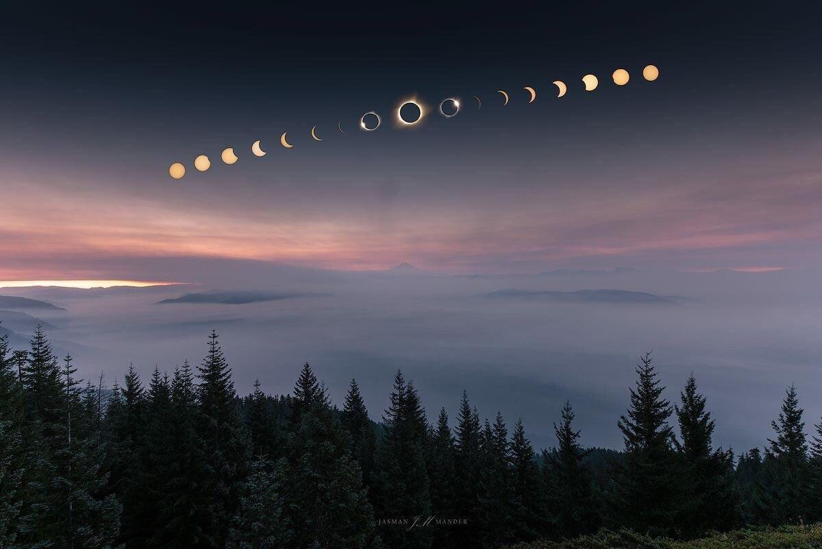 Phases of the Eclipse : wallpapers