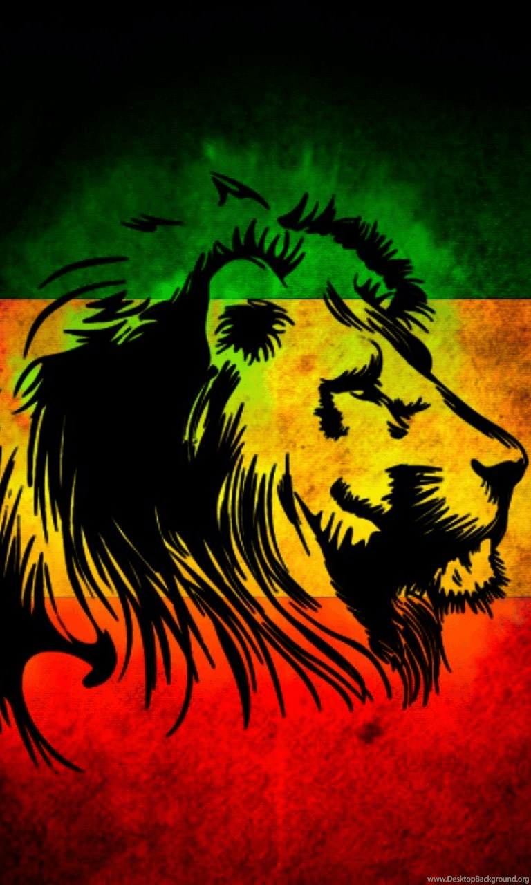 Lion Jamaica Flag Lumia 1020 Wallpapers