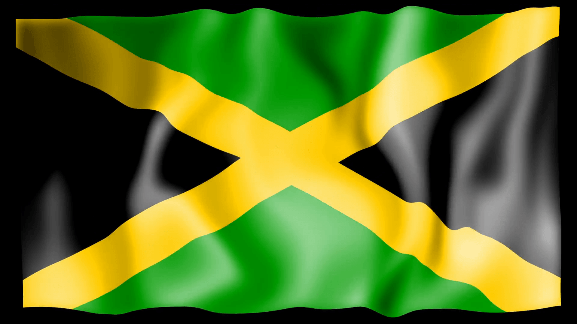 Inn Drawing 4K Ultra HD Jamaica Flag Wallpapers