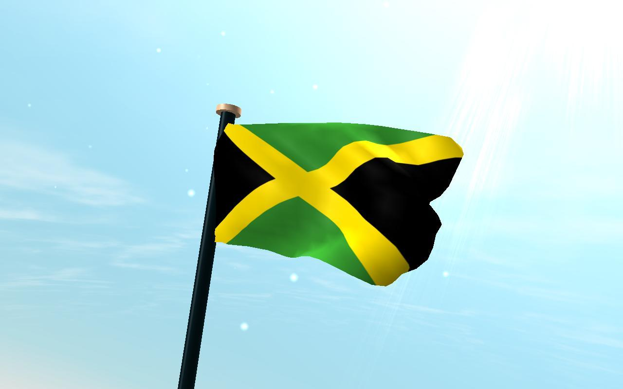 Jamaica Flag 3D Free Wallpapers for Android