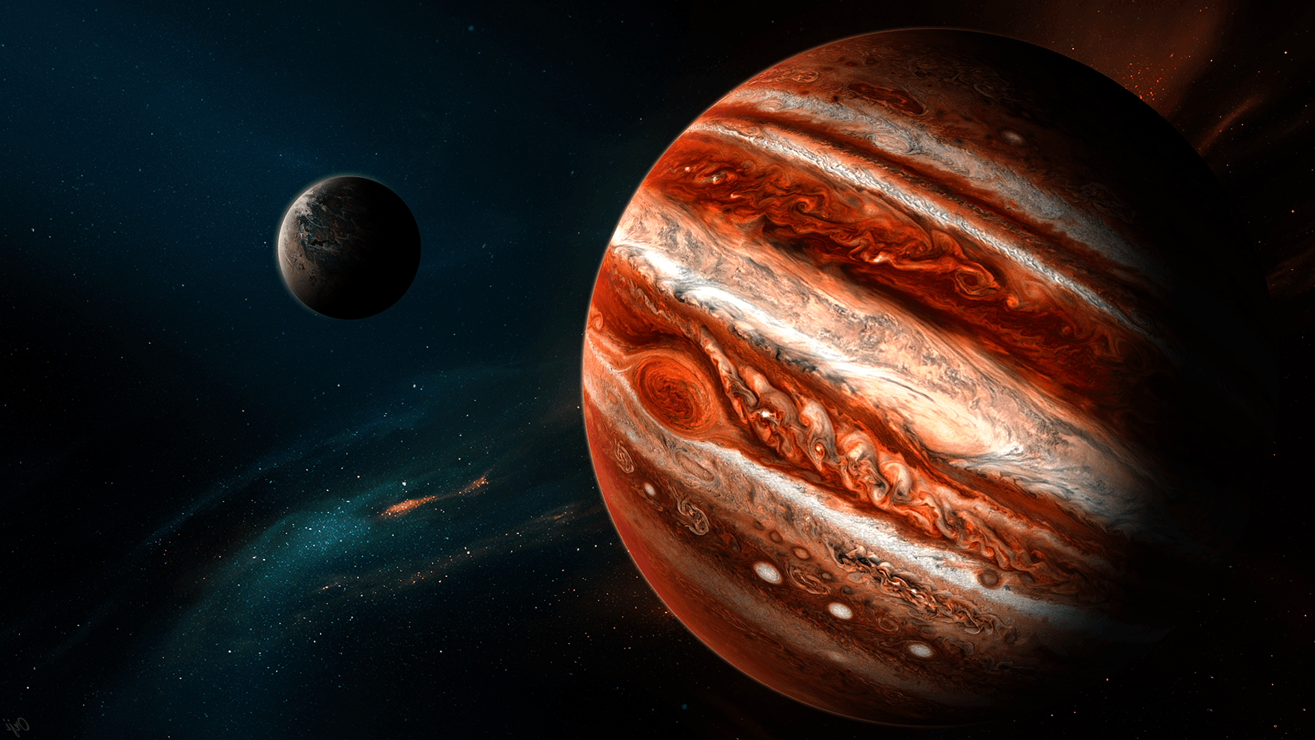Best 48+ Jupiter Backgrounds HD on HipWallpapers