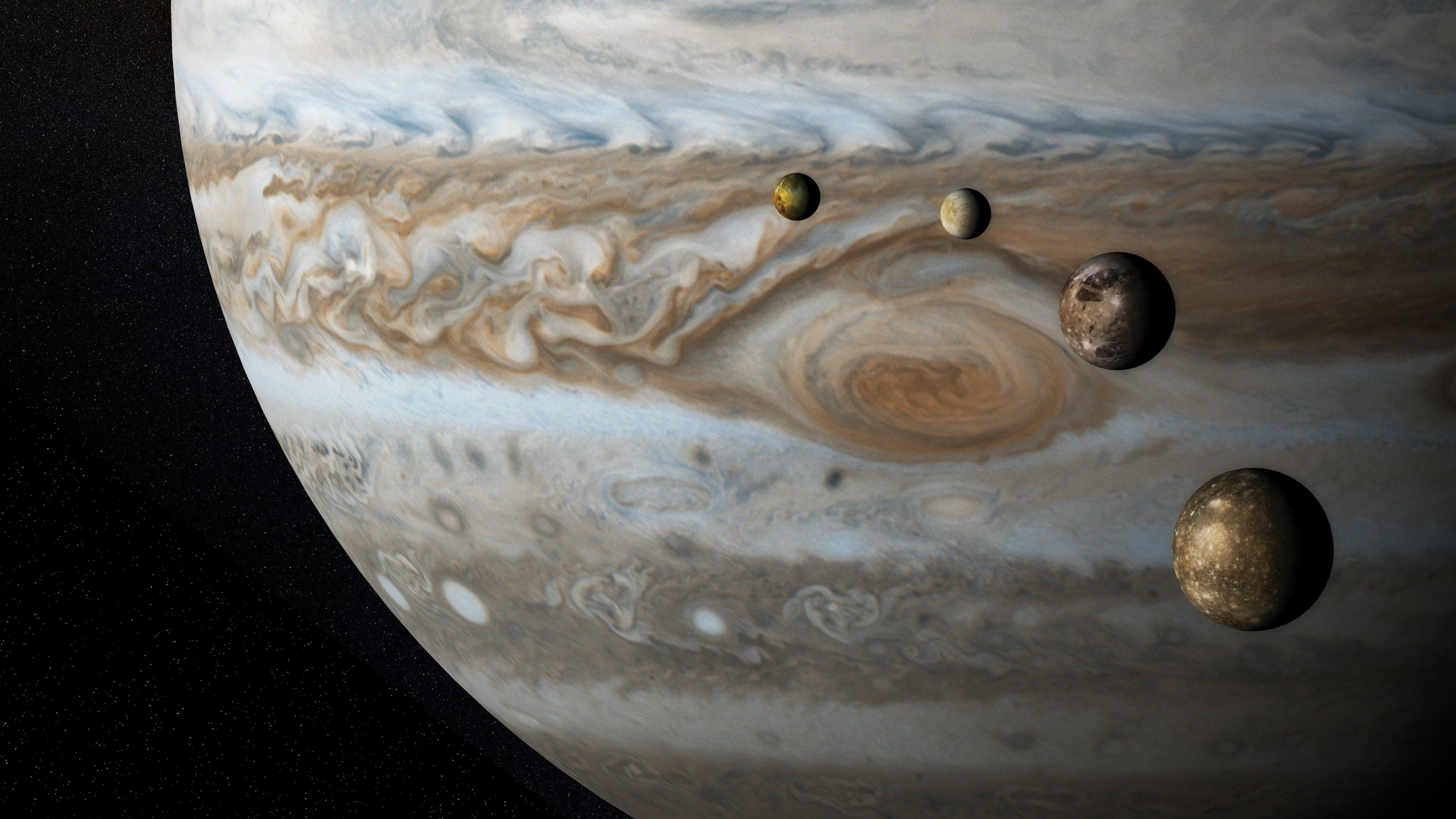Jupiter wallpapers HD for desktop backgrounds