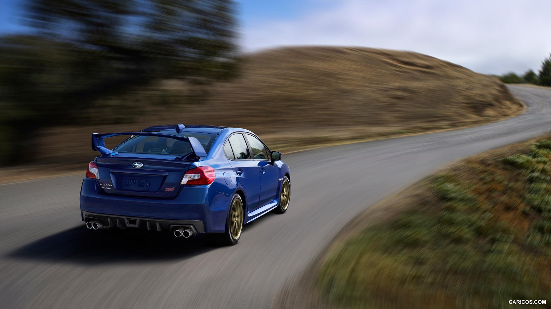 2015 Subaru WRX STI - Rear | HD Wallpaper #6