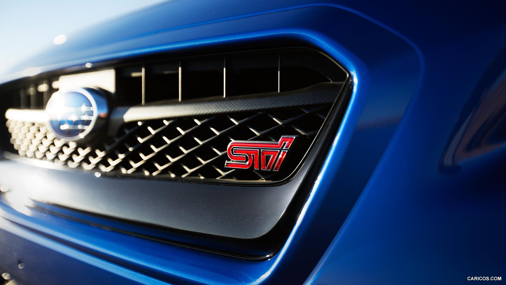 2015 Subaru WRX STI - Grill | HD Wallpaper #11