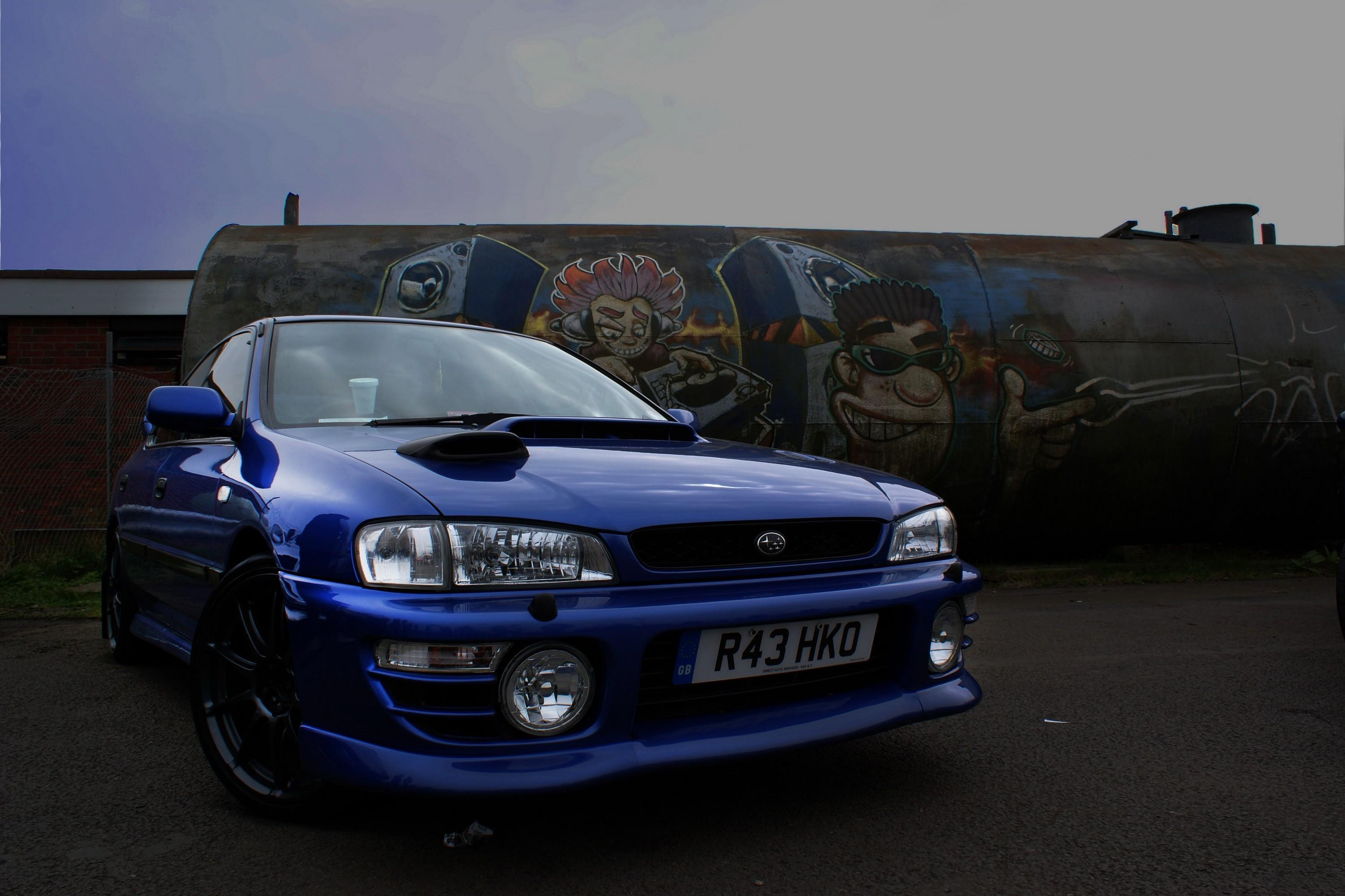 Subaru impreza blue cars tuning wallpaper | AllWallpaper.in #2733 ...