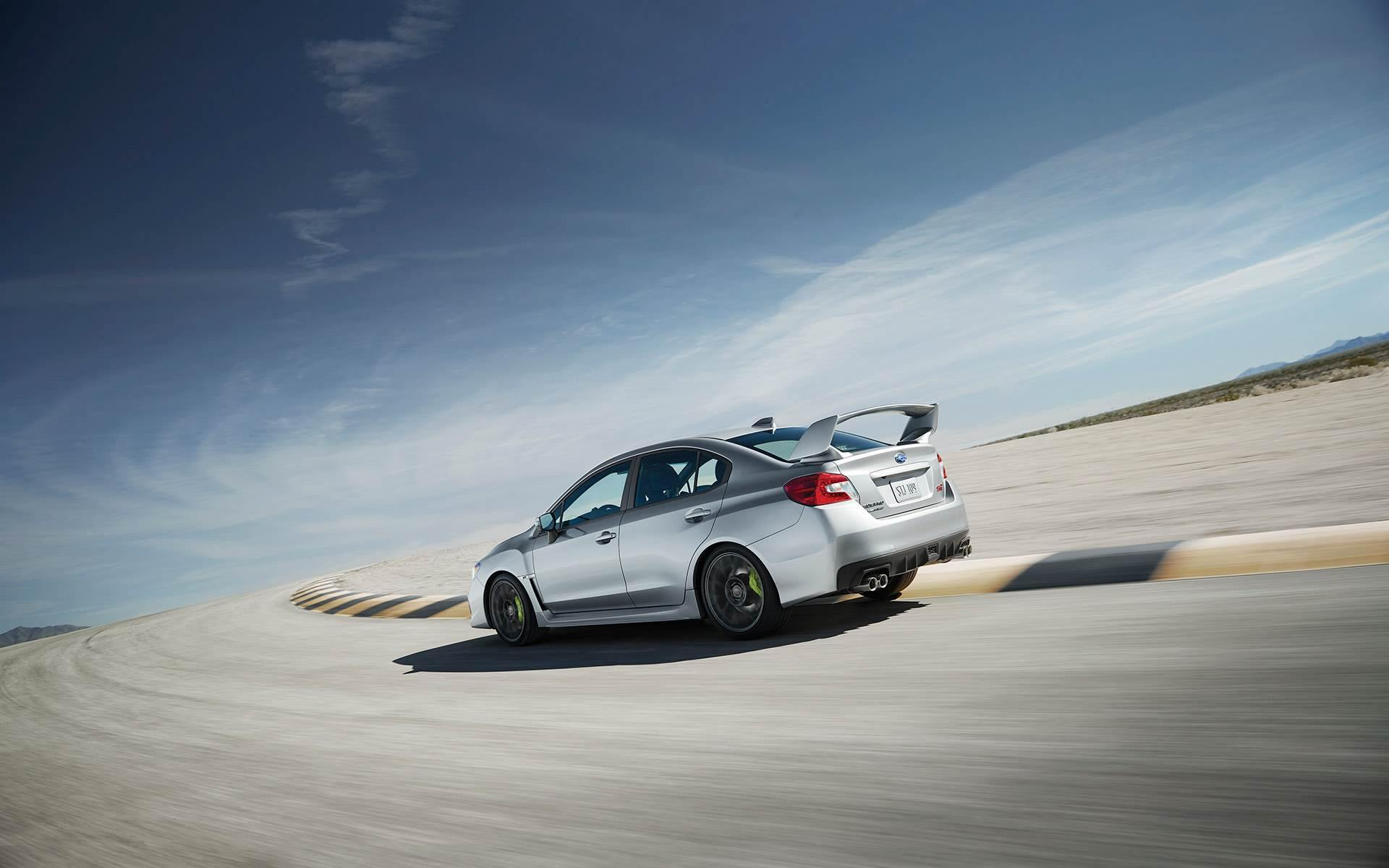 2019 Subaru WRX STI widescreen 4k hd wallpaper - Latest Cars 2018-2019