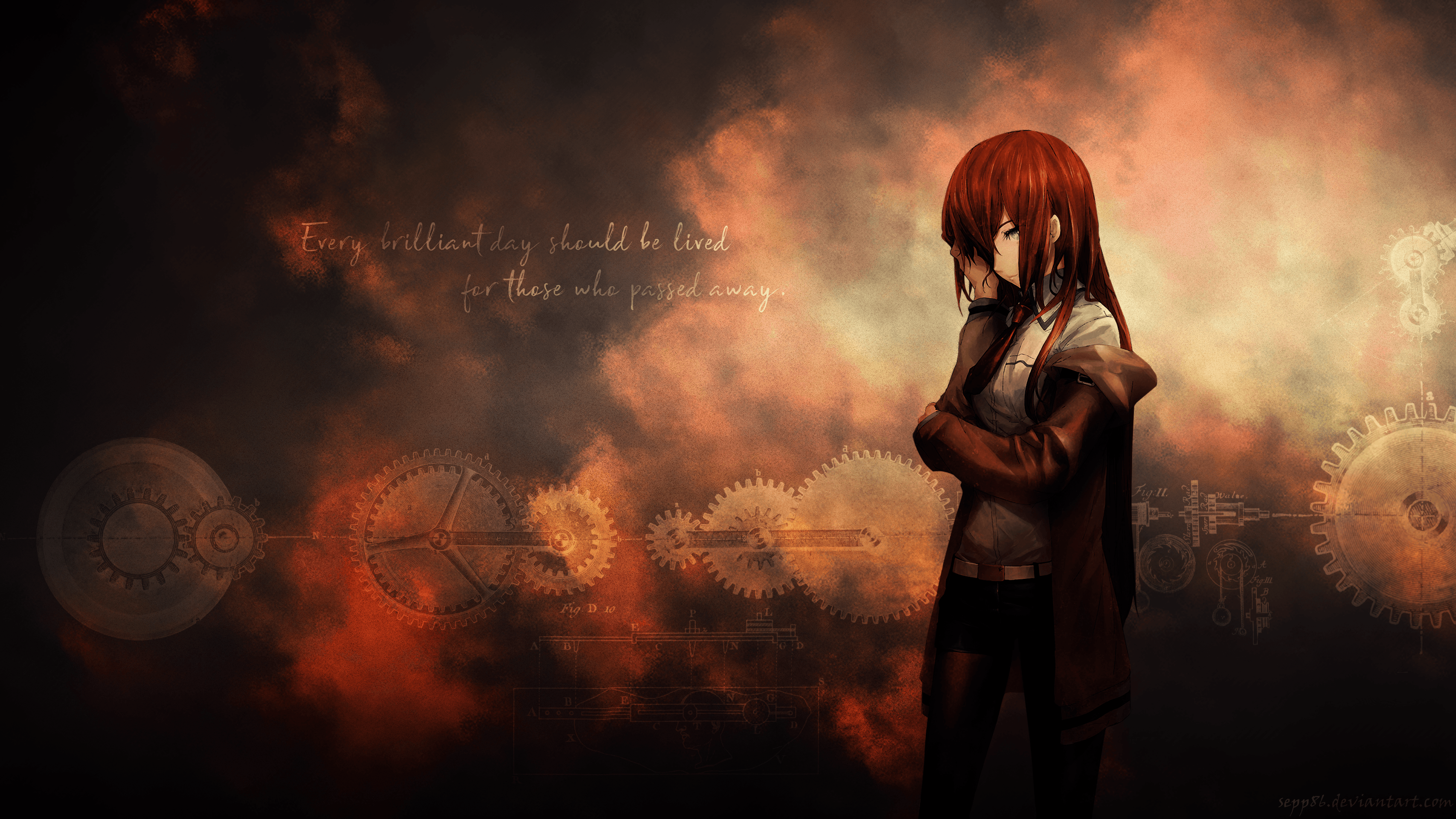 Steins Gate - Kurisu Makise Wallpaper | Steins Gate