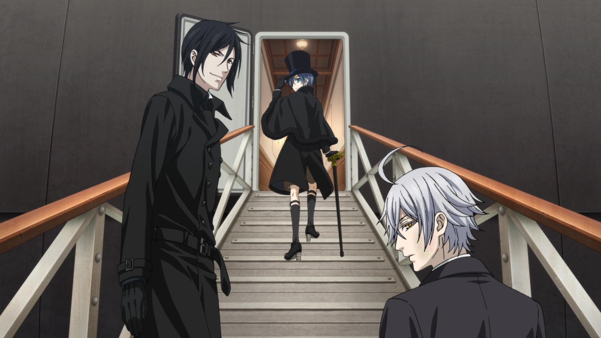 Black Butler Book Of The Atlantic Wallpapers High Quality | Download ...