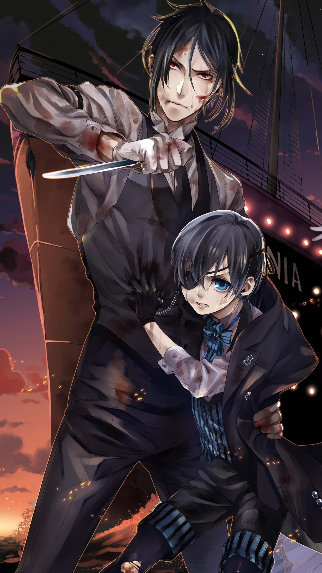 Anime/Black Butler (1080x1920) Wallpaper ID: 706687 - Mobile Abyss
