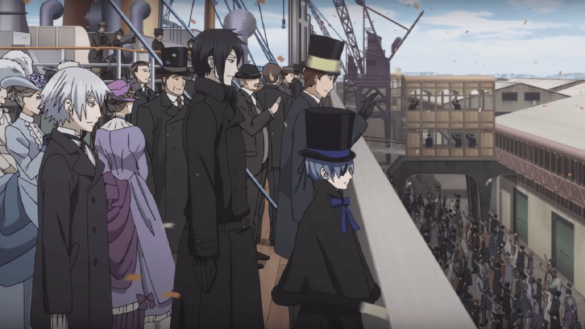 Black Butler: Book of the Atlantic Sailing to NA Theaters